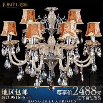 Fashion pendant light crystal lamp crystal pendant light living room lamps bedroom lamp lighting 9816 - 8 4