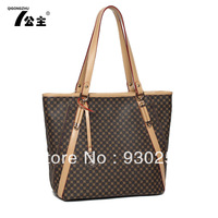 Bags 2013 women's handbag fashion print fashion big bag handbag shoulder bag free shipping