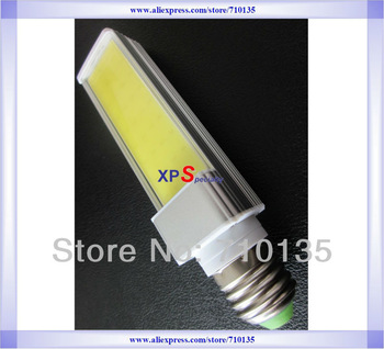 Trapeziform COB E26 E27 led plug light 4W-12W 300lm-1050lm 150/168/195mm COB LED Chip for E26 E27 LED corn cob lamp light