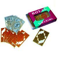 Royal crystal plastic transparent cards poker waterproof poker