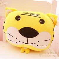 Tiger pillow cushion hand warmer animal hands warm tiger hand warmer hand warmer