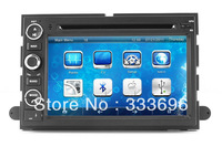 """7"""" In Dash Head Unit Car DVD Player for Ford Explorer Edge Expedition with GPS Navigation Nav Radio Bluetooth TV Strereo Audio"""