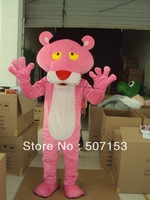2013 Hot Sales Pink Panther Mascot Costume Leopard Mascot Costume Pink Panther Fancy Dress