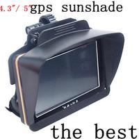 """Free shipping  4.3"""" 5"""" 4.3 inch 5 inch Car  Gps navigator accessories sunshade sunshine shield  navigation Sun shade&sun cat"""