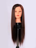 FREE SHIPING Beauty doll head false head mannequin head headform hair real hair maker
