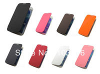 For Samsung Galaxy S4 IV i9500 Slim Hard Luxury Case Cover Flip Leather PU 1000 pcs  Case + 2000 PCS SCREEN PROTECTOR