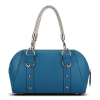 Luxury Painted Edge Ladies Party Bag Genuine Leather Handbag Women