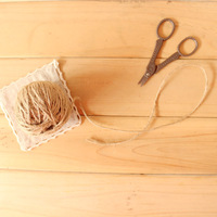 Hemp rope handmade roll 50 meters zakka