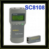 RJ45 network cable tester LAN cable tester SC8108  free shipping