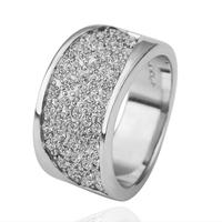 2013 New  18KGP R127 18K Gold Plated Ring Nickel Free K Golden Plating Platinum Austrian Crystal SWA Element Rounding Ring