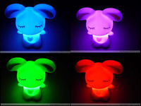 The rascal rabbit colorful lights colorful color light colorful rascal rabbit lamp flashing light-up toy