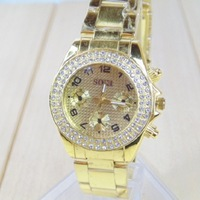 Special Promotions Watches Manufacturers Wholesale Supply Business Ladies Fashion Stainless Steel inlaid Rhinestone Watch