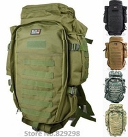 Free Shipping 911 Multifunctional Military Tactical Rifle Backpack Large Capacity Outdoor Molle Mountaineering Travel Bag 6Color