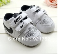 free shipping White baby walking shoes toddler shoes trade baby sprot shoes