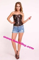 Free Shipping Purple Medical Fat Women Corset Wholesale And Retail