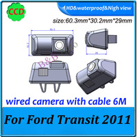 Car Rear View Camera Reversing parking camera for Ford Transit 2011 high quality HD CCD Special