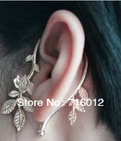Free Shipping Fashion ear cuff flower fashion retro animal ear cuff 18pc a lot Min.order is $15 (mix order) E4696a