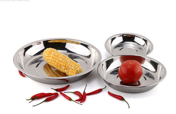 Stainless steel plate dish plate stainless steel plate fruit plate