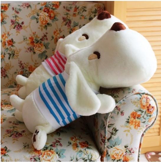 2013 free shipping,plush toys,Papa cute dog pillow, dog lovers bulk plush toys, doll birthday gift,size 60 cm(China (Mainland))