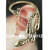 Free Shipping brands earring Alloy Phoenix Shaped Vintage Peacock Ear Cuff Earrings18pc a lot Min.order is $15 (mix order) E4718
