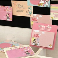 Mini Order $8(mixed) Korea stationery biscuits girl n times stickers sticky little red riding hood memo pad 3136