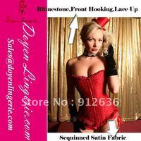 Free Shipping Rhinestone Open Hot Sex Women Photo Corset  Slim n lift Body Shaper Underwear Wholesale And Retail