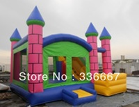 outdoor entertainment equipment inflatable trampoline bed inflatable bounce inflatable castle commercial grade PVC tarpaulin