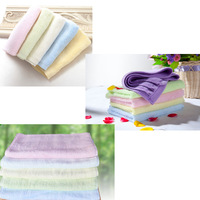 Bamboo fibre towel small children towel facecloth adult soft absorbent a antibiotic