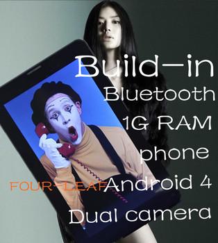 New listing 7 inch tablet pcs 2g sim card slot phone call Android 4.0 Allwinner A13 CPU 1GB DDR3 Bluetooth WiFi OEM-z1