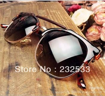 Double metal hinge Sunglasses men women transom promotion style Radiation sunglass outdoor sports discount sample order WLJ77