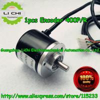 Top Free shipping 1pcs  Encoder 400P/R Incremental Rotary Encoder 400p/r AB phase encoder 6mm Shaft for CNC