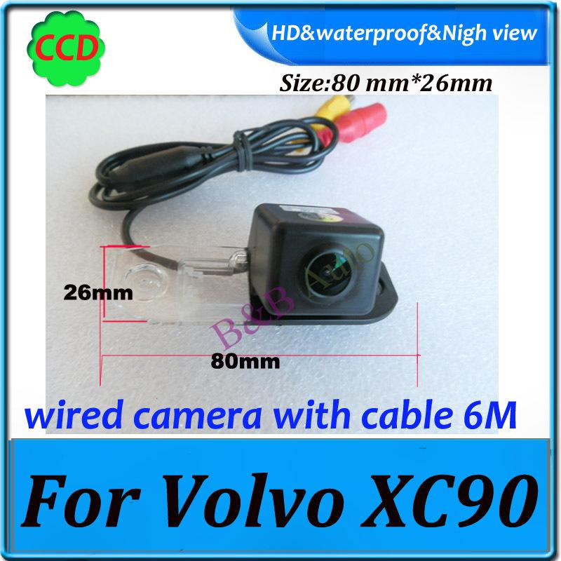 car backup camera waterproof Effective Pixels 728*582 Night vision Car rear view camera For Volvo XC90 parking camera(China (Mainland))