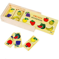free shipping Infant infant wooden toys puzzle fruit