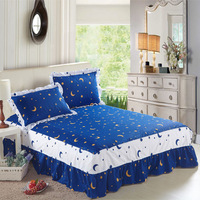 100% cotton bed skirt  bed sets local