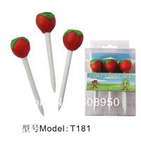 Cute peach GOLF TEES GOLF EQUIPMENT GOLF ACCESSORIES 120pcs/lot free shipping