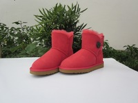 Wool and fur in one 2012u 3352 snow boots female boots