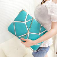 2013 vintage envelope bag fashion women's day clutch women's briefcase handbag small bag free shipping