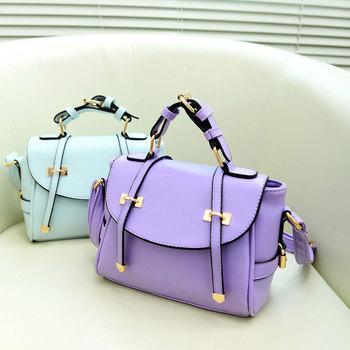 2013 New Women Ladies Retro Shoulder Bag Fashion Messenger Bags Cute School Tote PU Handbags