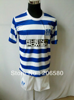 Free shipping,13/14 season top quality duisburg home blue/white soccer jersey