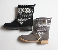 Women's high snow boots