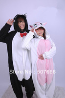 10pcs/Lot  cute Dual color fairy Cat Cosplay Costumes Animal Leopard Kigurumi Anime Pyjamas Sleepwear high quality