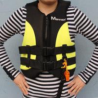 Manner professional adult life vest super snorkel clothing swimming vest qp2009