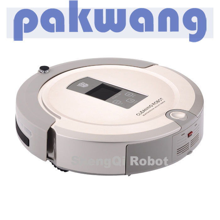 2013 Free shipping multifunction intelligent robot vacuum cleaner new products(China (Mainland))