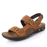 Summer genuine leather casual sandals male trend sandals
