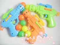 Elastic table tennis ball gun novelty toy small gift