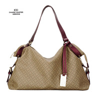 2013 women's one shoulder handbag zipper female bags big bag  Free Shipping