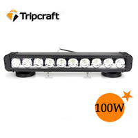 18 inch 100W 100 Watt High Power Cree Led Light Bar SUV ATV LED Work Light 8000 Lumen Offroad Led Driving Fog Light Lamp