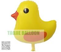 Free Shipping Yellow duck balloons,100 pcs/Lot