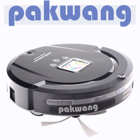 4 IN 1 multifunctionLCD and touch screen A320 black intelligent robot vacuum cleaner