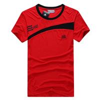 Male sports t-shirt Men casual wear short-sleeve sportswear sports uniforms running short t-shirt